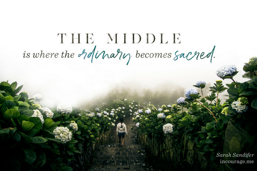 The Ordinary Nature of Moving Forward